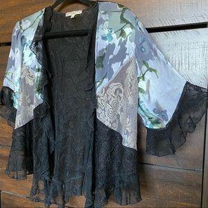 Spencer Alexis Women Open Kimono Top Size L